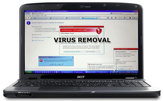 Virus Removal Services Delhi