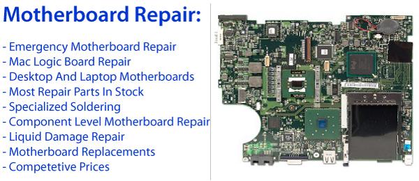 Laptop Motherboard Repair Los Angeles
